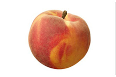 Week 15 baby fetus size peach